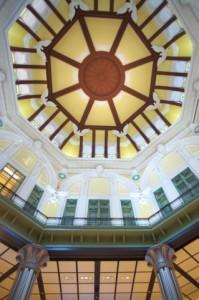 東京駅のドーム天井