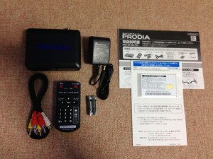 ピクセラ PRODIA(プロディア)地上デジタルチューナー PRD-BT106-P03の中身