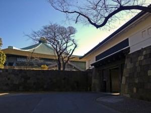 田安門と日本武道館