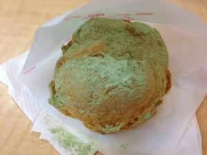ビアードパパの抹茶と玉露シュークリーム