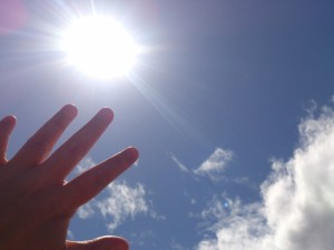 日差しと紫外線