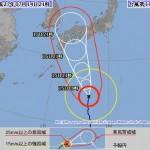 台風11号の進路予想(7/14) 気象庁・米軍・アジア・ひまわり画像の最新情報