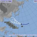 台風13号の進路予想(8/2~3) 気象庁・米軍・アジア・ひまわり画像の最新情報
