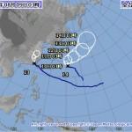 台風14号の進路予想(8/9) 気象庁・米軍・アジア・ひまわり画像の最新情報