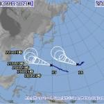 台風15号、16号の進路予想(8/17) 気象庁・米軍・アジア・ひまわり画像の最新情報