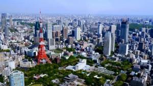 東京の高層ビル群