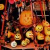 ハロウィンのテーブルコーディネート、黒とオレンジでらしさを演出!