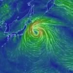 2015台風23号の最新進路予想、でかい・速い・そんなに強くない