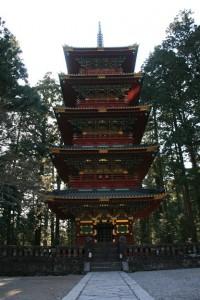 日光の五重塔