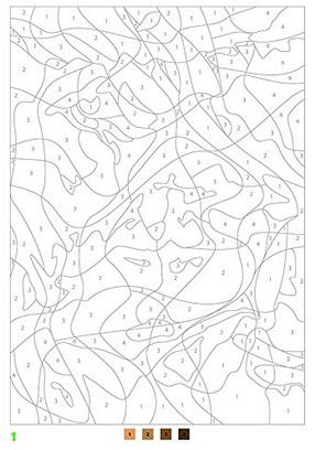 100パズルぬりえ点つなぎ指示通りの色に塗る塗り絵 なるほどブログ