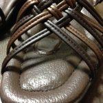 ダイソーのインソール(ゲルパット)の口コミ、サンダルの靴ズレ対策