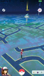 ポケモンGOの地図