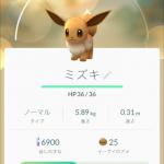 ポケモンGO、イーブイの進化先を決める日本語の名前を検証してみた