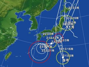 台風(2016年8月21日)