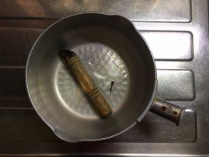 雪平鍋の取っ手が取れる
