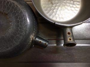 雪平鍋の取っ手の交換・修理