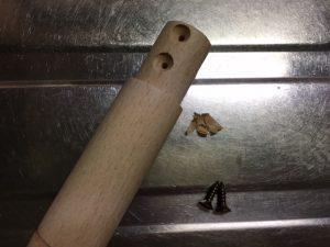 鍋用の交換用木製取っ手部品