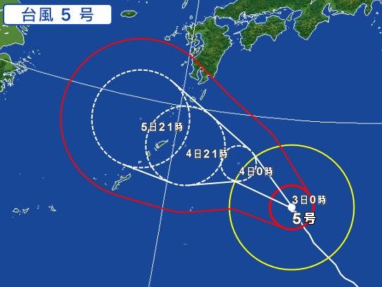 台風5号の影響による飛行機の欠航・遅延(2017年8月3日 ...