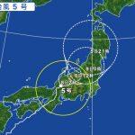 台風5号の影響による飛行機の欠航・遅延(2017年8月8日)