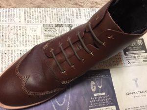 シュレパスSHULEPASを使った革靴